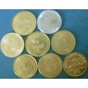 India, Set de 8 Monedas.