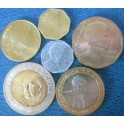 Chile, Set de 6 monedas 1999/08.