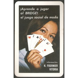 1969, Calendario H. Fournier: Bridge.