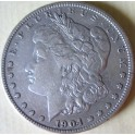 1 Dólar Morgan, USA 1904, Ag.