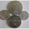 Croacia, Set de 4 Monedas.